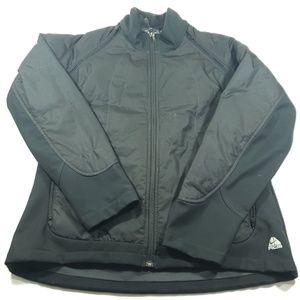 Nike ACG Womens solid black zip jacket and vest